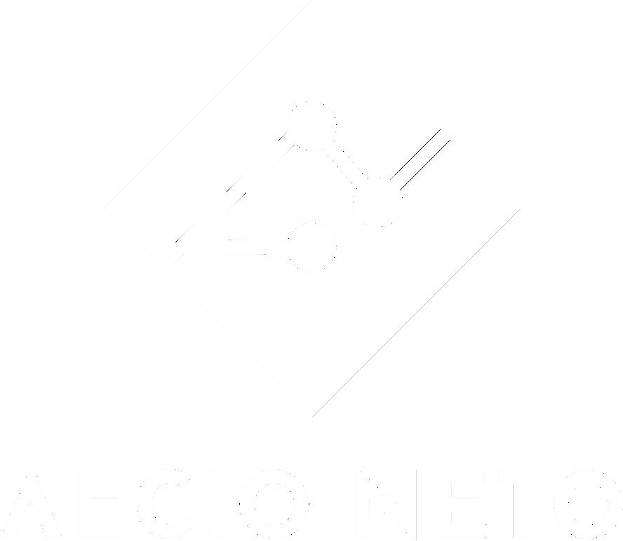 Logo - Aecio Neto - Estrategista Digital - Branco